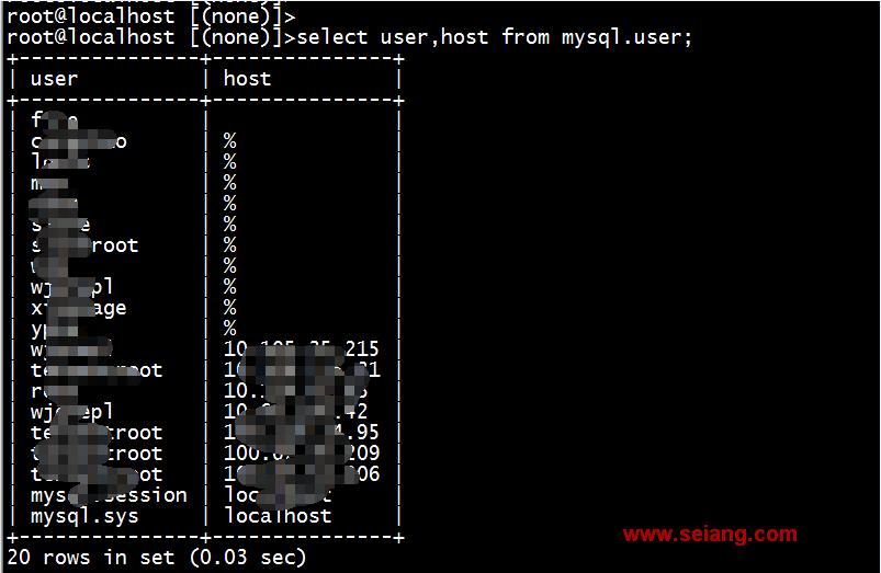 MYSQL无备份情况下恢复误删除的user权限表