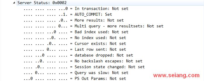 使用tcpdump抓取数据包,初步分析MySQL 通信协议